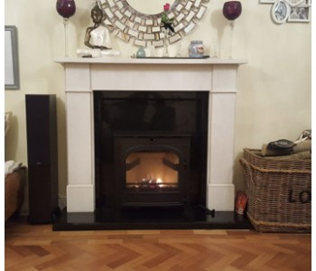 Parkray Chevin 5 Inset Multi-Fuel Stove - recently installed in Cranleigh, Surrey