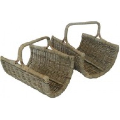 Curved Log Basket (Large)