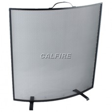 Curved Black Trim Fireguard